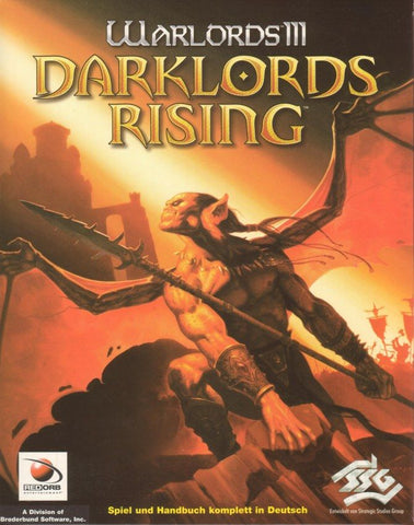 WARLORDS 3 III DARKLORDS RISING +1Clk Windows 10 8 7 Vista XP Install