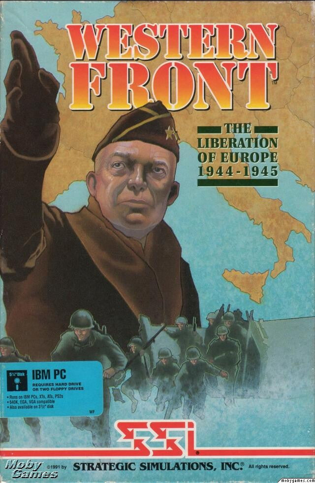 GARY GRIGSBY'S WESTERN FRONT +1Clk Windows 10 8 7 Vista XP Install