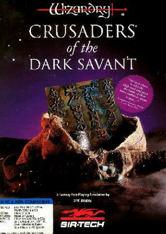 WIZARDRY 7 CRUSADERS OF THE DARK SAVANT +1Clk Windows 10 8 7 Vista XP Install