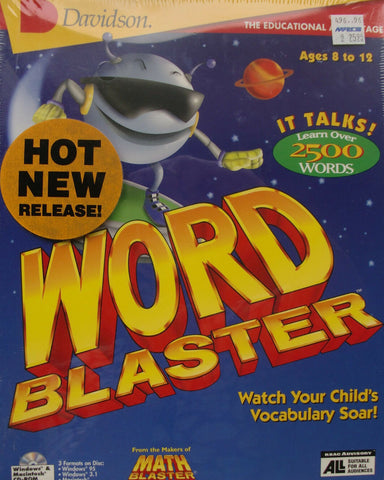 WORD BLASTER DAVIDSON 1996 +1Clk Windows 10 8 7 Vista XP Install