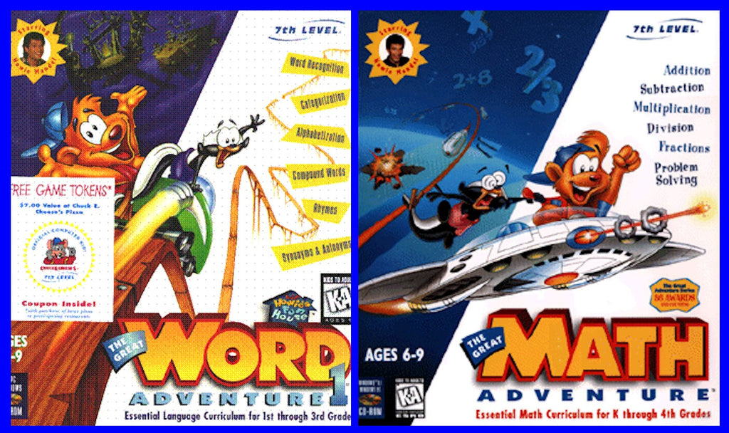 LIL HOWIE'S WORD AND MATH ADVENTURE +1Clk Windows 10 8 7 Vista XP Install