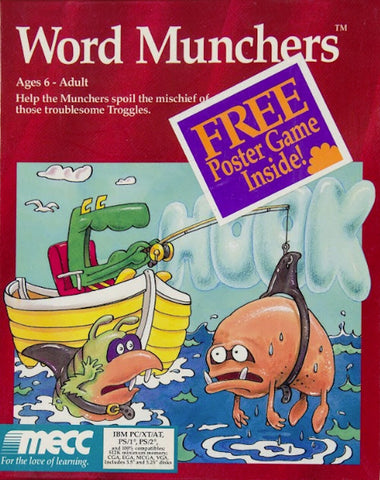 WORD MUNCHERS 1991 +1Clk Windows 10 8 7 Vista XP Install
