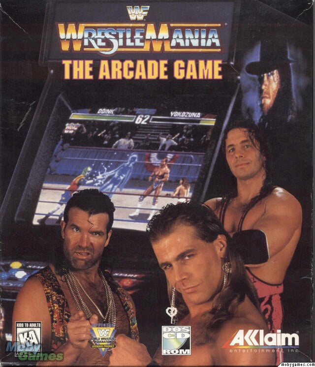 WWF WWE Wrestlemania The Arcade Game PC +1Clk Windows 10 8 7 Vista XP Install