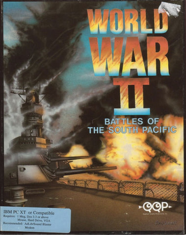 WWII BATTLES OF THE SOUTH PACIFIC QQP +1Clk Windows 10 8 7 Vista XP Install