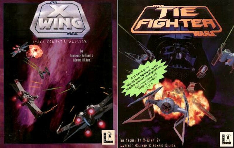 STAR WARS X-WING AND TIE FIGHTER+1Clk Windows 10 8 7 Vista XP Install