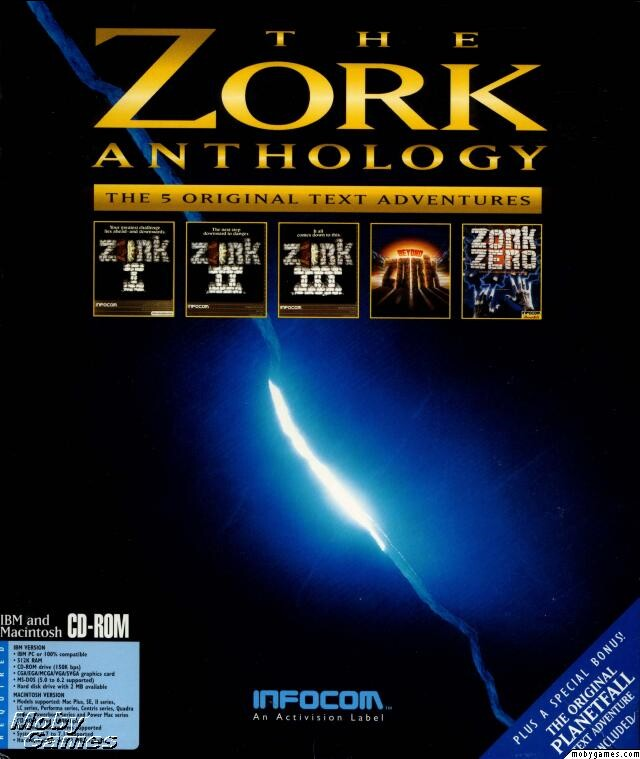 THE INFOCOM ZORK ANTHOLOGY +1Clk Windows 10 8 7 Vista XP Install