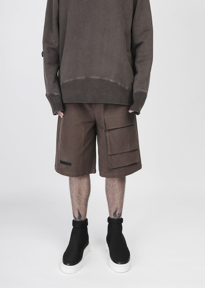 Twill Shorts in Pine - CGNY
