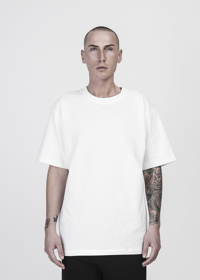 Photo Patch Tee in Ivory - CGNY