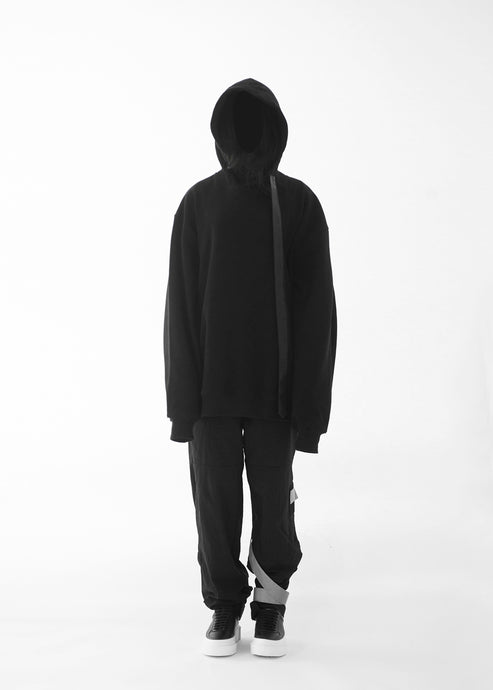 CGNY 2019 S/S Extreme Wide Drawstring Hoodie - CGNY