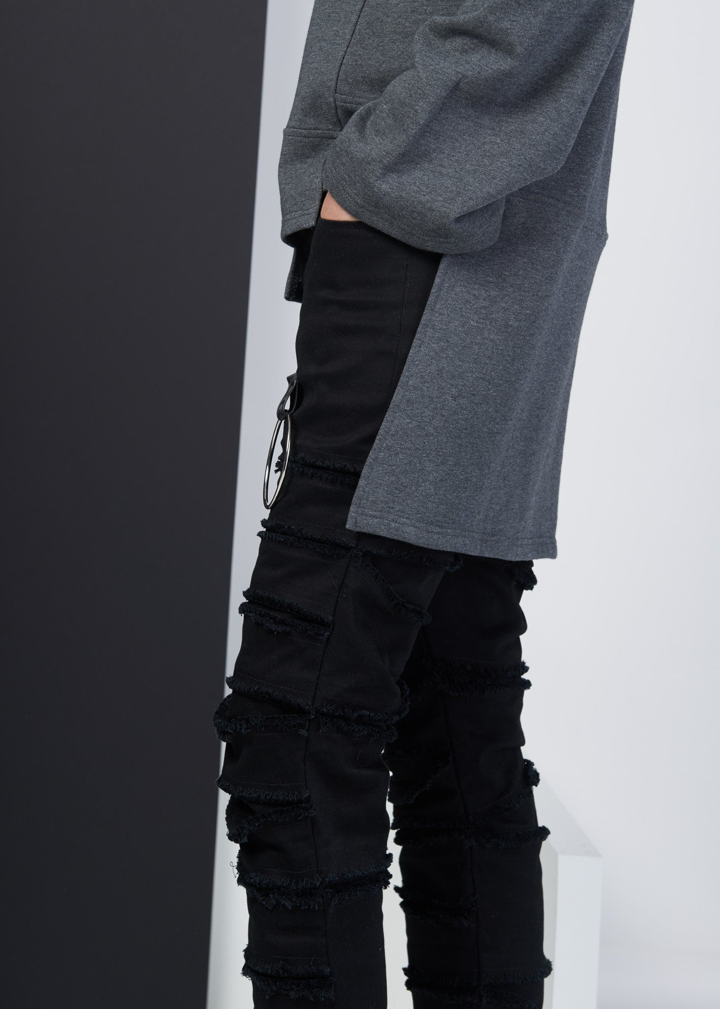 Distressed Layers denim - CGNY