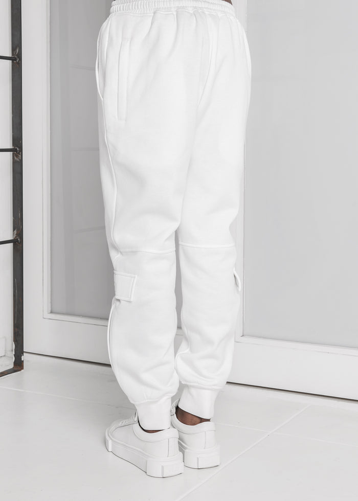 Side Pocket Sweatpants in Ivory - CGNY