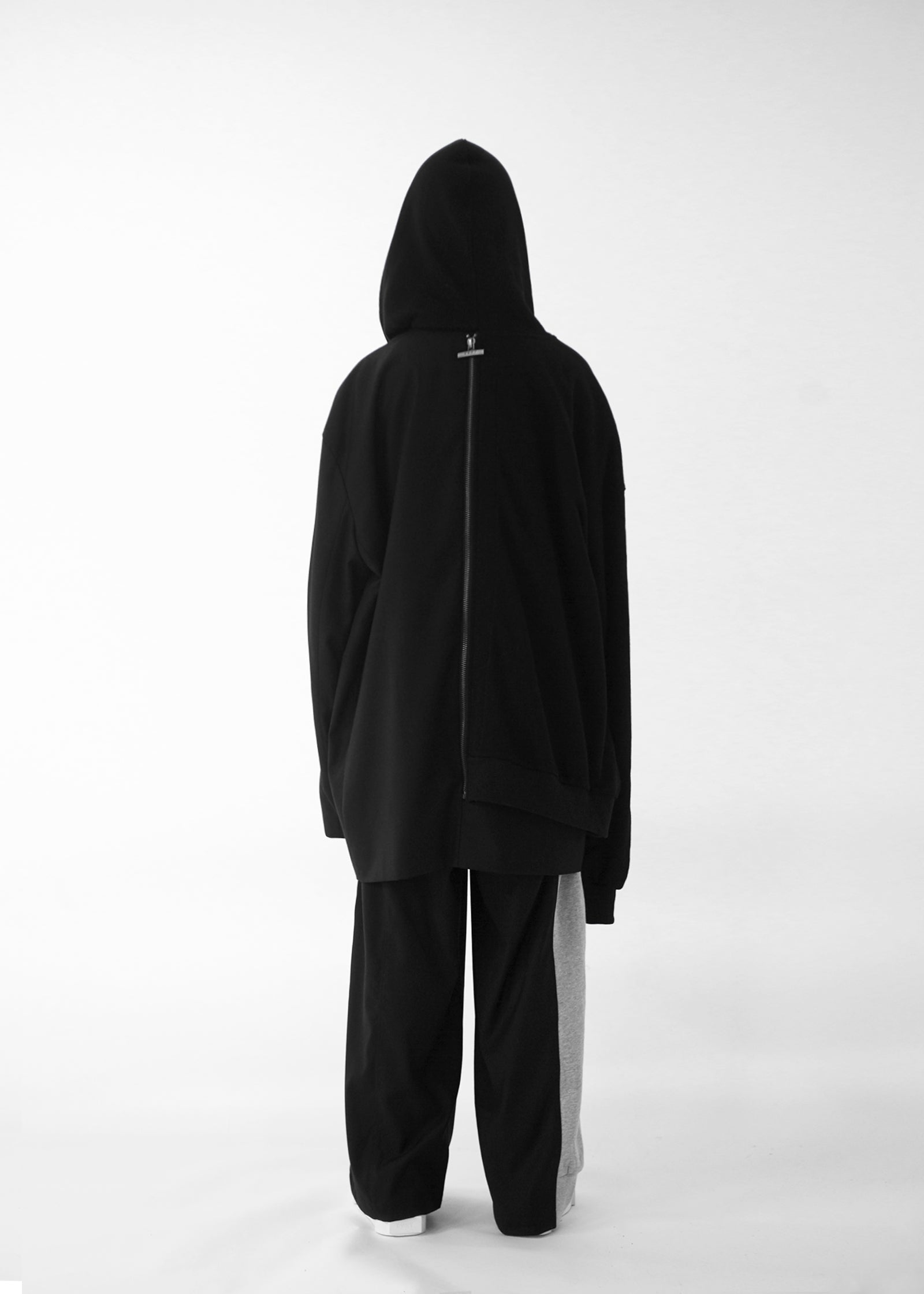 Copy of CGNY 2019 S/S Hybrid Oversized Hoodie Jacket (Black/Black) - CGNY