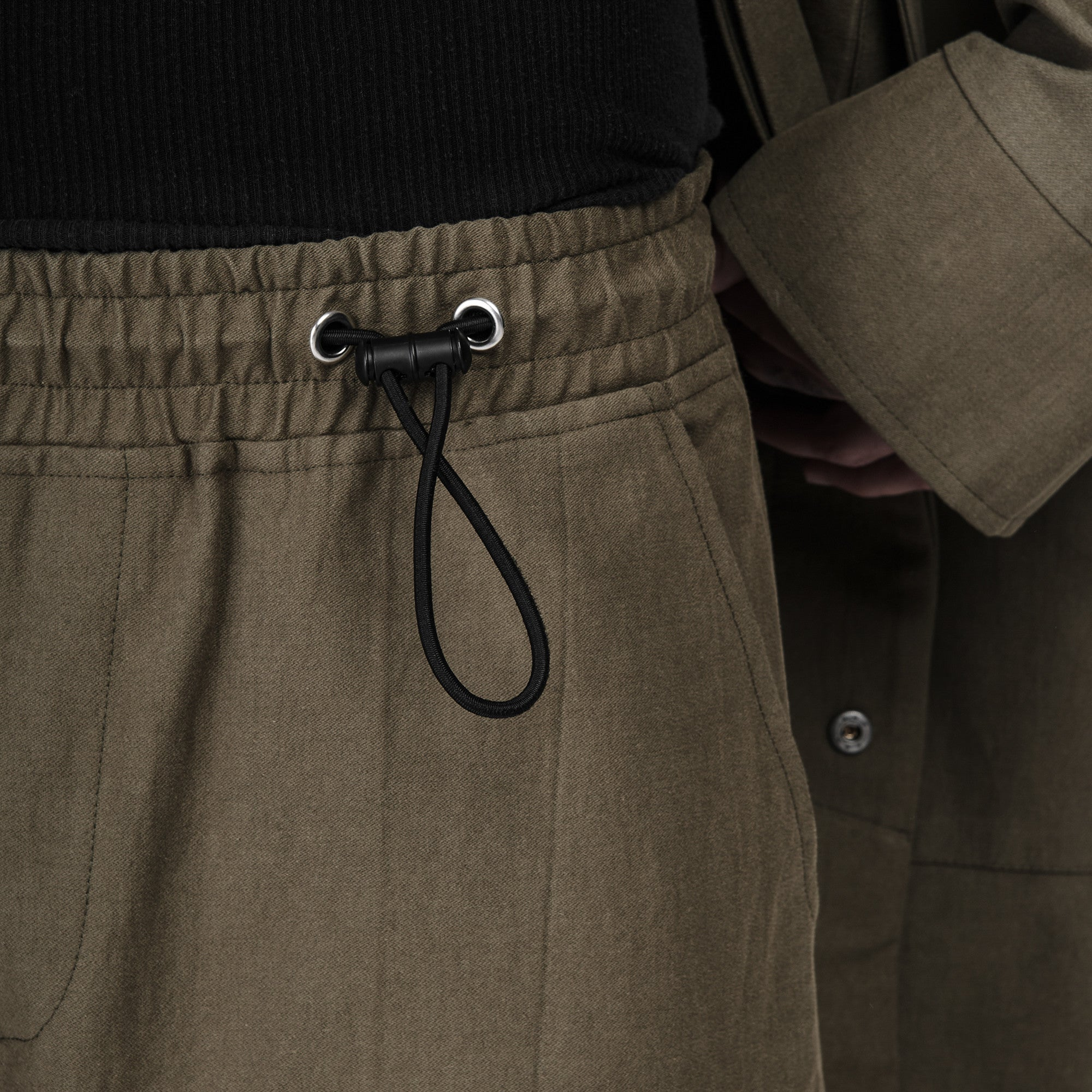 Twill Shorts in Olive - CGNY