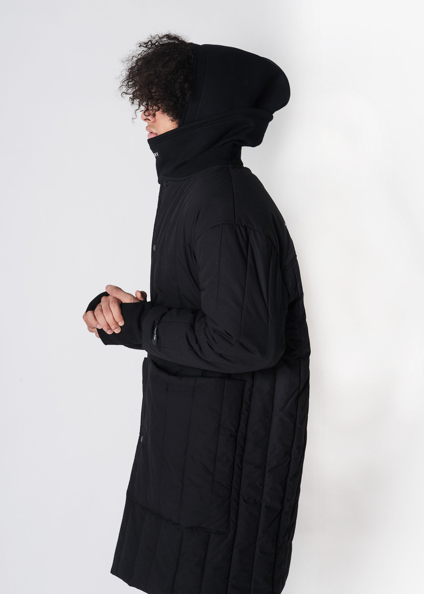Embroidered Down Jacket - CGNY