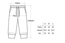 Load image into Gallery viewer, Double layer Crop Pants - CGNY