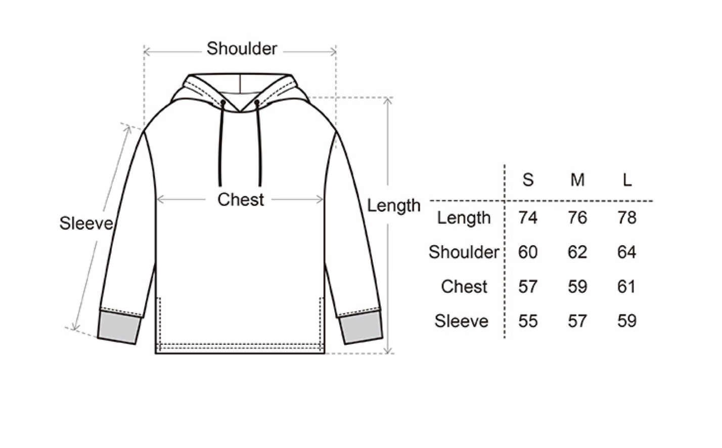 Print Hoodie with Cross Back Stripes - CGNY