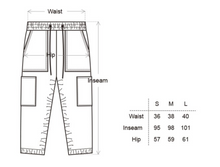 Load image into Gallery viewer, Corduroy Jogger Pants in Black - CGNY