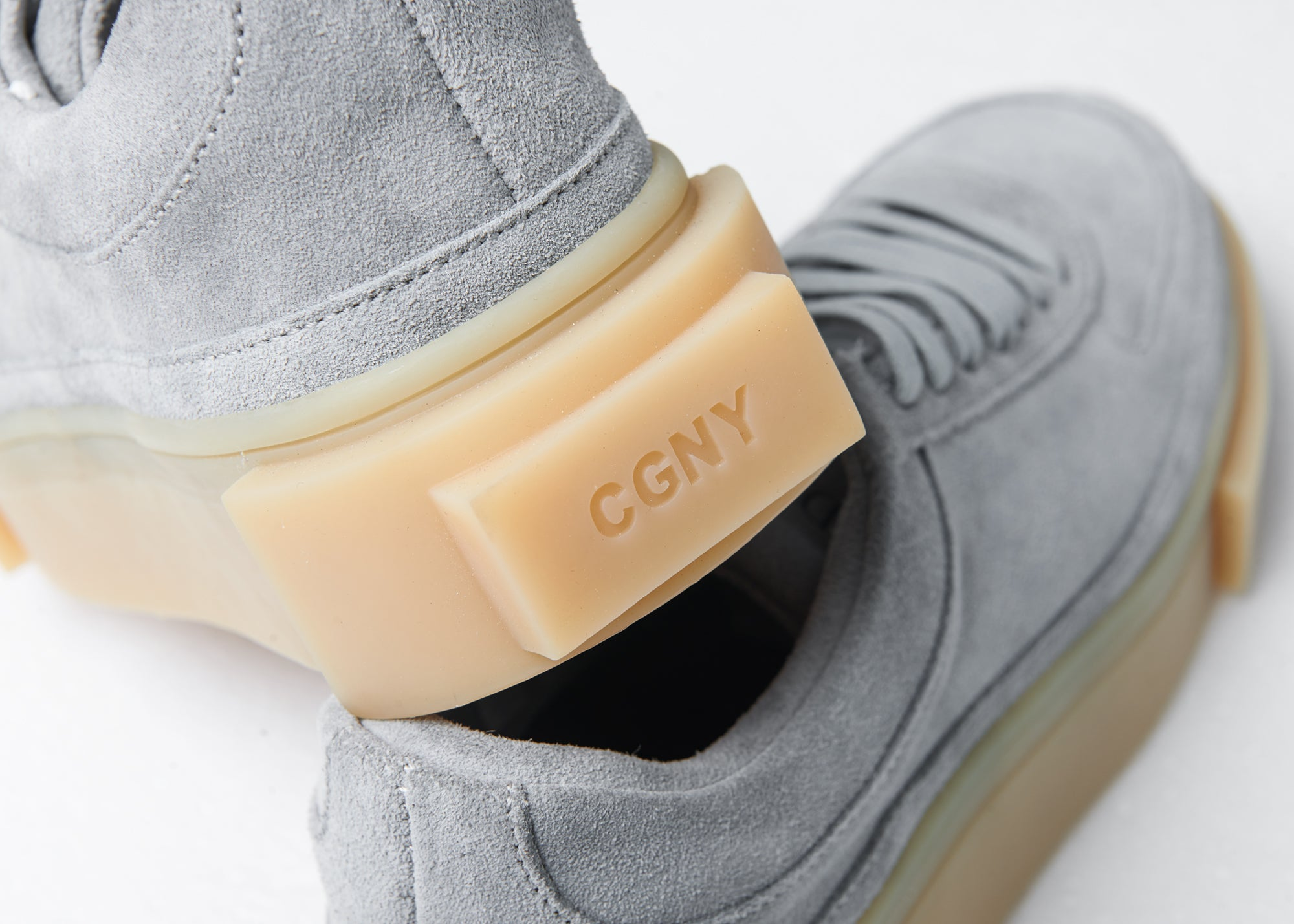 """UNION SQUARE"" - Grey Suede - CGNY"