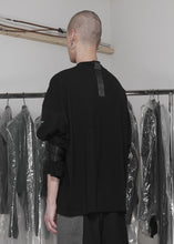 Load image into Gallery viewer, CGNY x CTMR black asymmetrical tee - CGNY