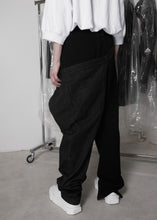Load image into Gallery viewer, CGNY x CTMR asymmetrical sweatpants/jeans - CGNY