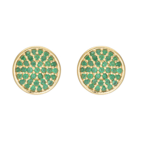 Salvador Pavé Stud Earrings