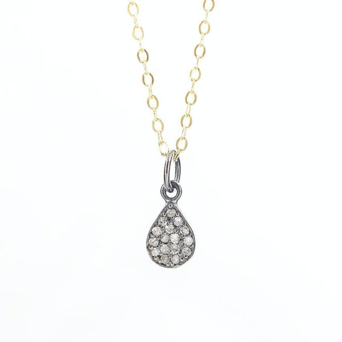 Brooklyn Large Teardrop Necklace