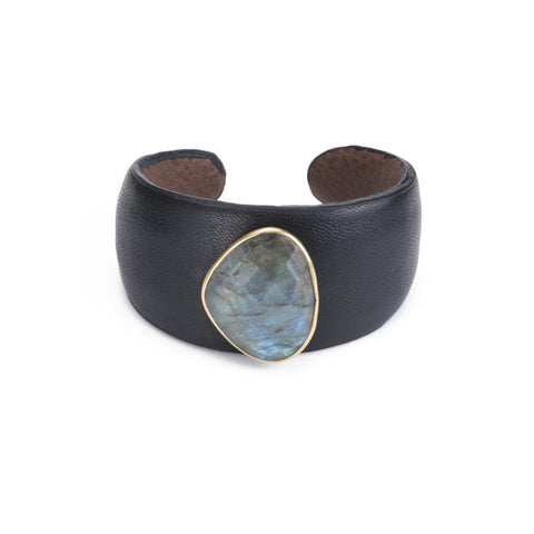Portland Natural Hide Bracelet Double
