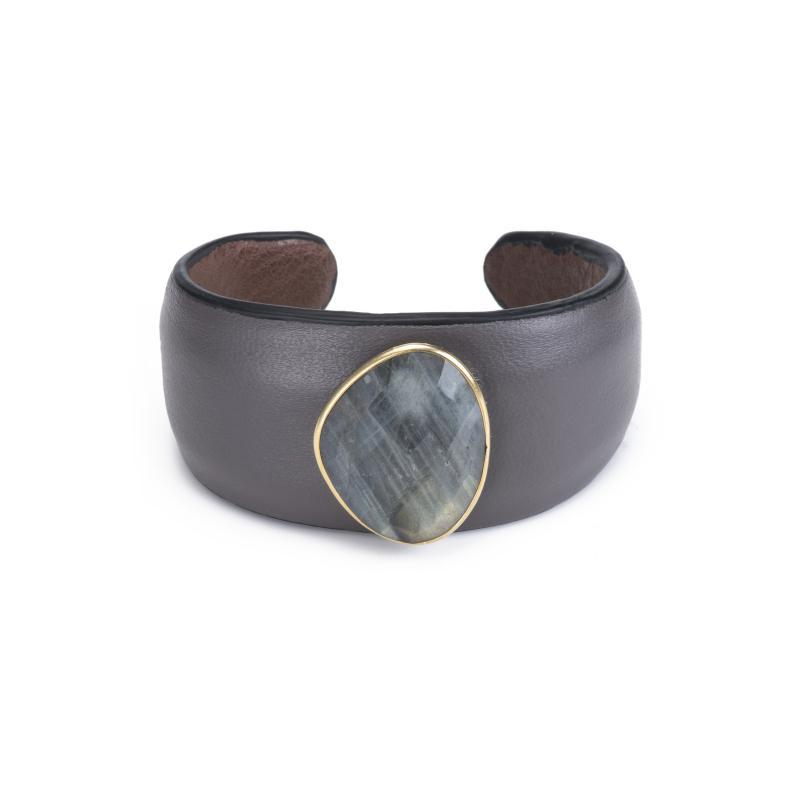 Jaipur Leather Cuff Bracelet
