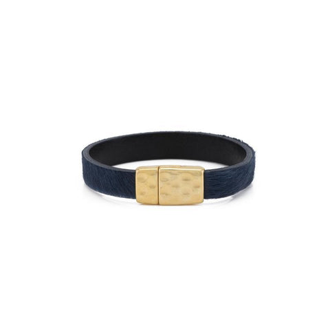Portland Natural Hide Bracelet Single