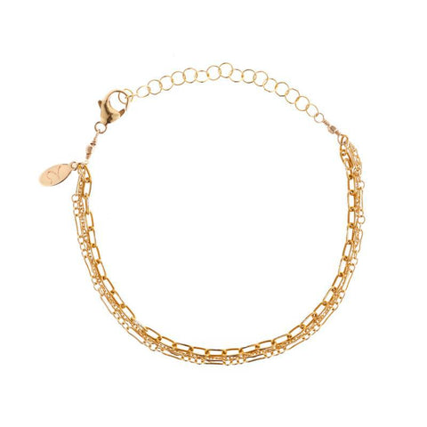 Brooklyn Diamond Pavé Bar Bracelet