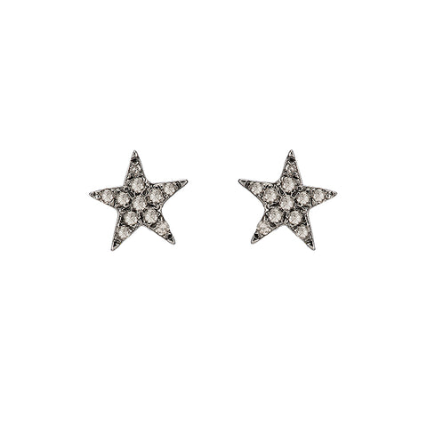 Brooklyn Diamond Pavé X Earrings