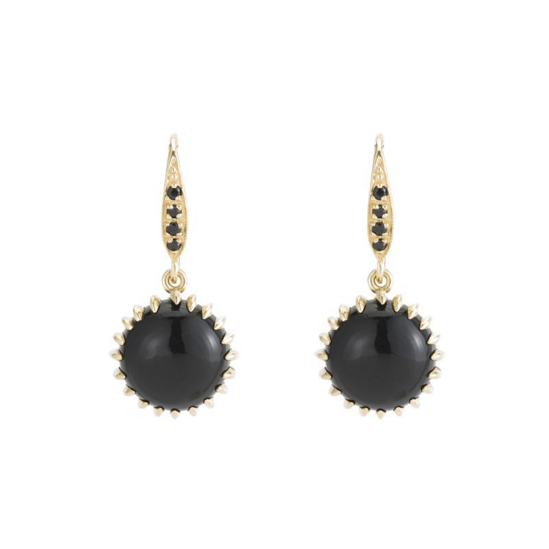 Black onyx and gold