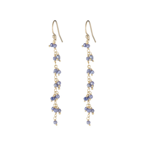 Greece Gemstone Cluster Earrings