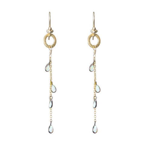 Jaipur Opal Teardrop Earrings