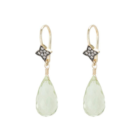 Portland Gemstone Drop Earrings