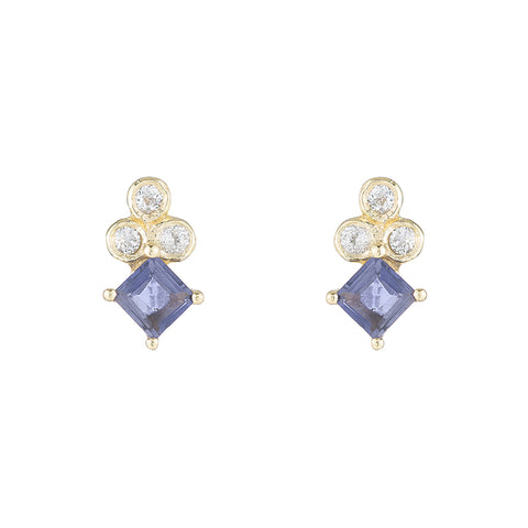 Greece Princess Gemstone Studs