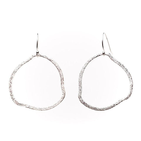 Barcelona Organic Circle Earrings