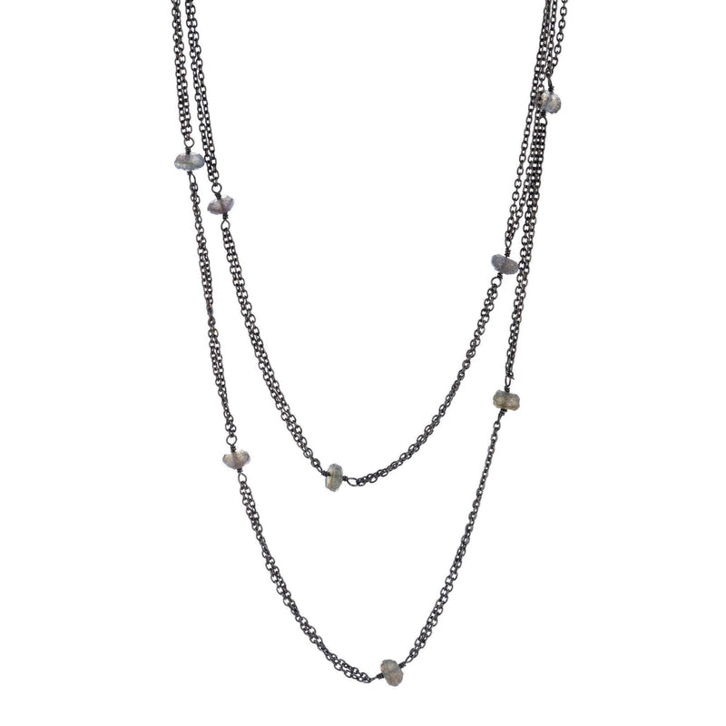 Kyoto Gemstone Chain Necklace