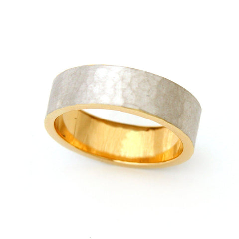 Men's Fingerprint Wedding Band