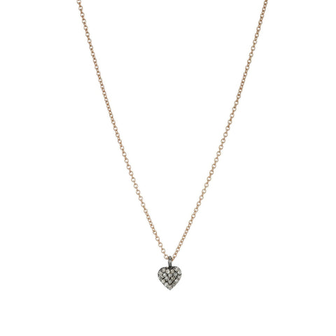 Brooklyn Diamond Heart Necklace