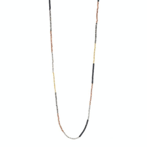 Portland Long Gemstone Necklace
