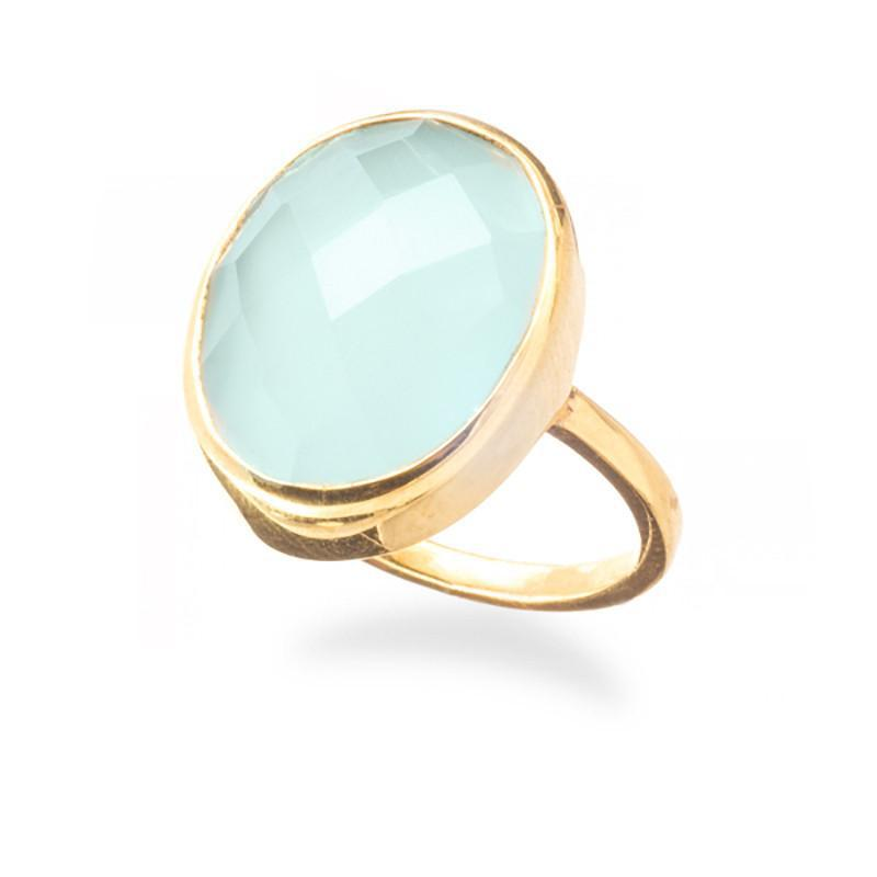 Positano Large Bezel Ring