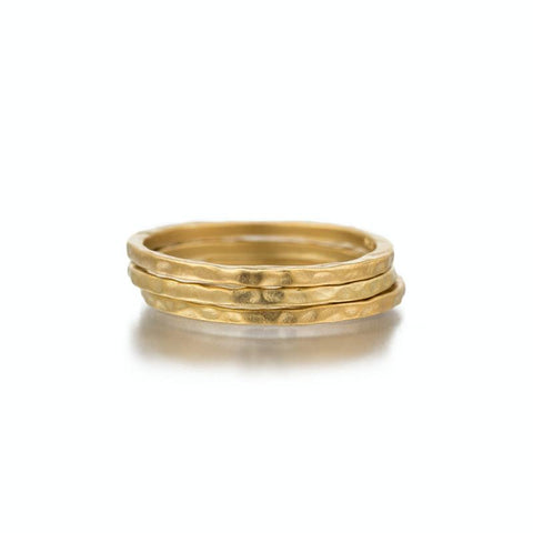 Havana Gold Hammered Band