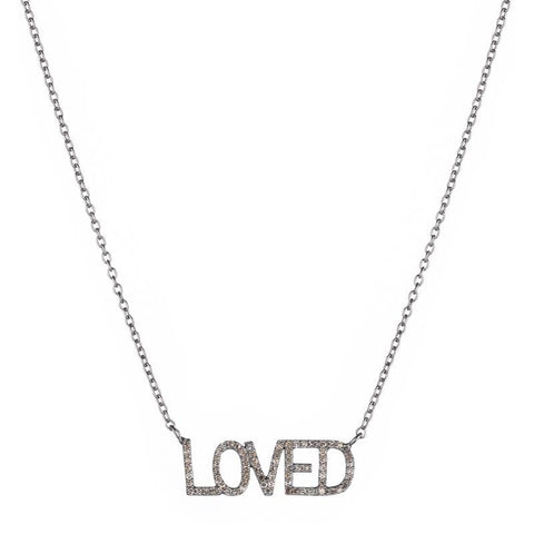 Brooklyn Diamond LOVED Necklace