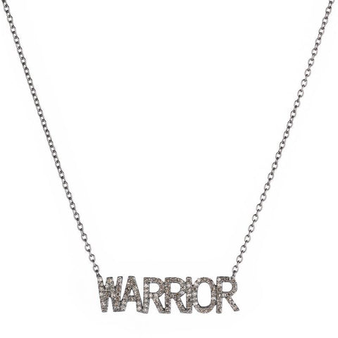 Brooklyn Diamond WARRIOR Necklace