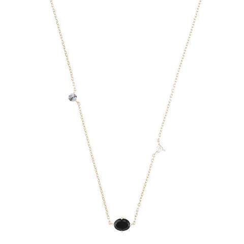 Portland Triple Gemstone Necklace