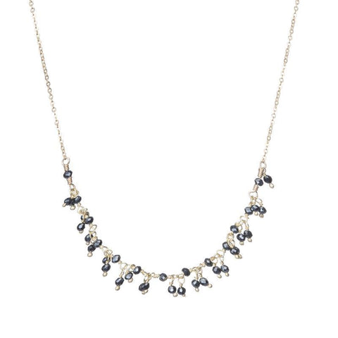 Jaipur Gemstone Mini Cluster Necklace
