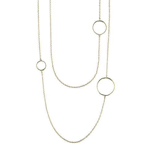 Greece Dainty Chain Necklace