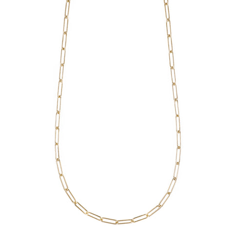 Tokyo Rectangle Link Necklace