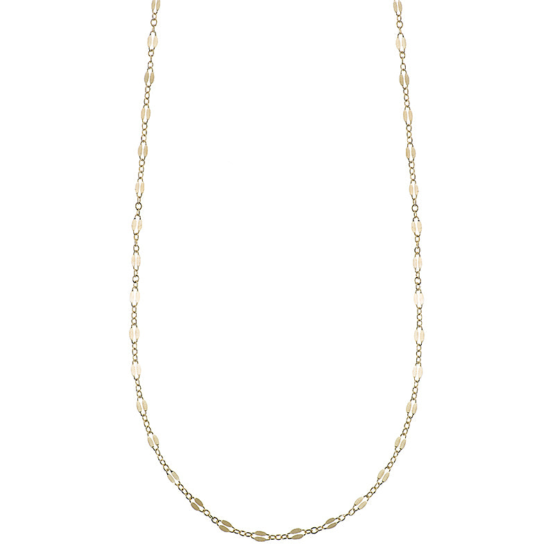 Greece Dainty Chain Necklace-Necklace-Ashley Schenkein Jewelry Design